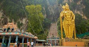 معبدی شگفت انگیز در مالزی