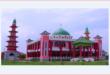 «چِنگ هو»؛ مسجدی با معماری چینی در اندونزی