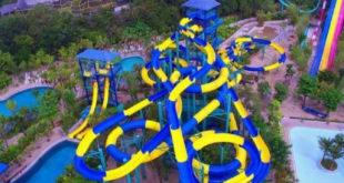 رکورد طولانیترین سرسره آبی جهان به مالزی خواهد رسید