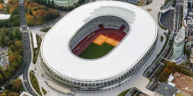 ورزشگاه ملی المپیک توکیو ساخته شد