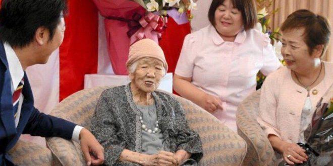 رکورد پیرترین فرد جهان در ژاپن ثبت شد