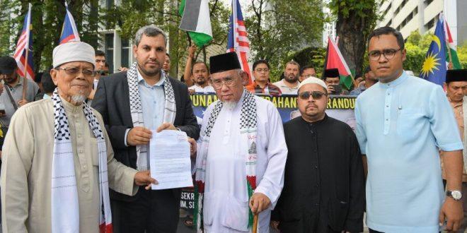 حامیان فلسطین در جنوب شرق آسیا/سیاست های آمریکا در حمایت از رژیم صهیونیستی محکوم است