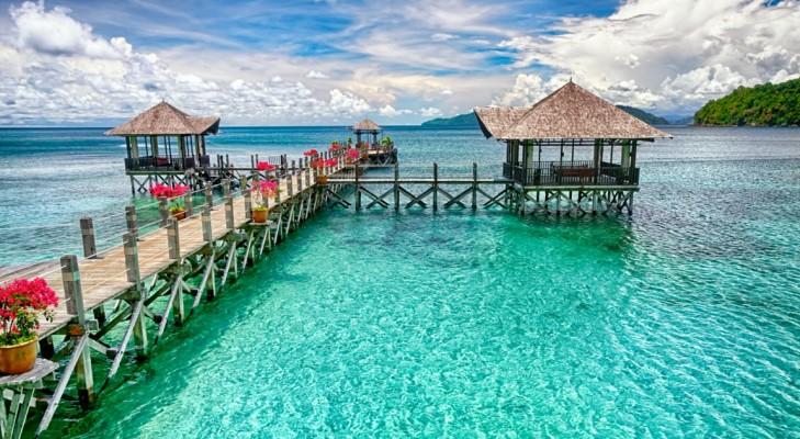 جزیره دیدنی در مالزی