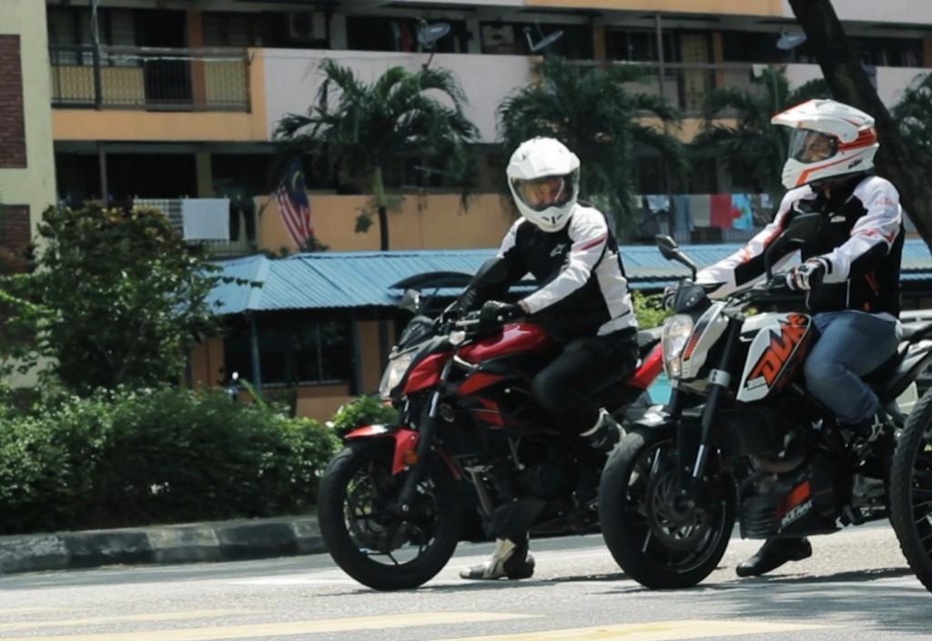 موتورسواران مالزی