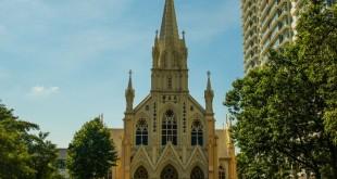 """""""هالی رزاری"""" کلیسای زیبای گوتیک در مالزی"""