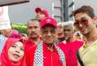 ماهاتیر محمد در تظاهرات حمایت از قدس