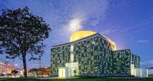 مسجد «اسماء الحسنی»؛ جاذبهای مزین به ۹۹ نام خداوند در اندونزی + عکس