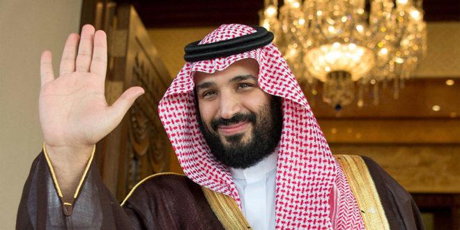 فرش قرمز برای ولیعهد عربستان