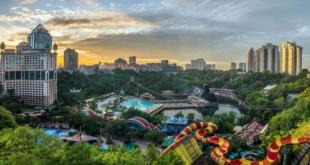 شهربازی سان وی لاگون مالزی ، از مهیجترین جاذبههای گردشگری سراسر آسیا