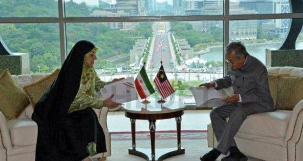 معصومه ابتکار با نخستوزیر جدید مالزی دیدار کرد