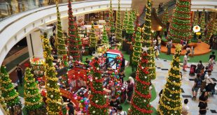 کریسمس و تزئینات زیبای مراکز خرید کوالالامپور+عکس