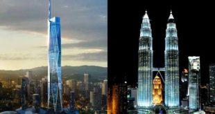 برجهای سه قلوی کوالالامپور بلندترین برجهای مالزی خواهند بود