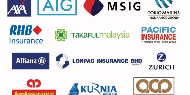 شرکت های فعال در صنعت بیمه مالزی