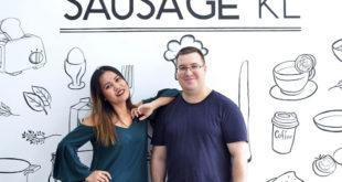 یکی از بهترین سوسیس های خانگی کوالالامپور، در این رستوران سرو می شود