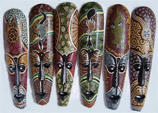 ماسک چوبی