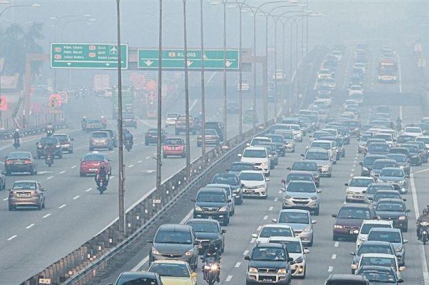 آلودگی هوا مالزی