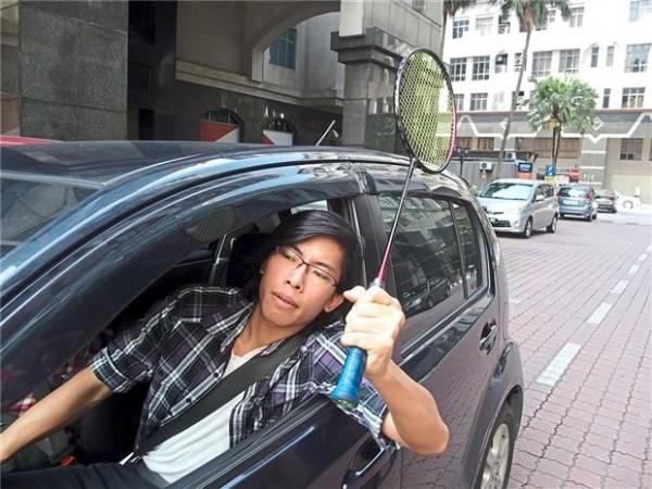 سرنشینان خودرو در مالزی