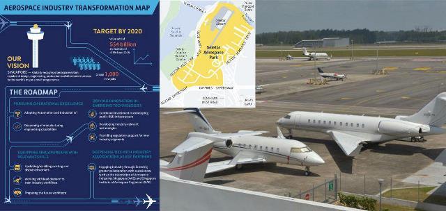 رونمایی از نقشه راه صنعت هوافضای سنگاپور
