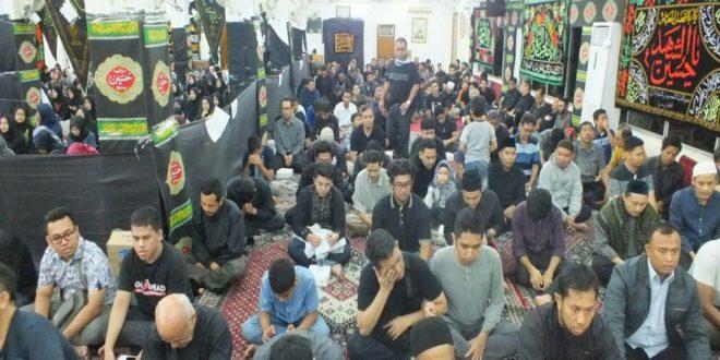 مقتل خوانی و سینه زنی سنت رایج محافل حسینی در اندونزی