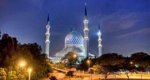 مسجد«آبی» مالزی در رکوردهای جهانی کتاب گینس+تصاویر