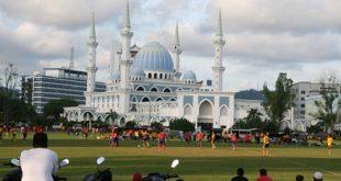 نمایی دیدنی از کوانتان، نهمین شهر بزرگ مالزی