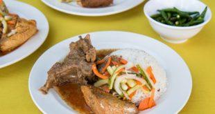 غذاهای  مالزی :  ناسی داگانگ | Nasi Dagang
