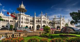 راه آهن کوالالامپور یکی از شگفتانگیزترین ایستگاههای جهان