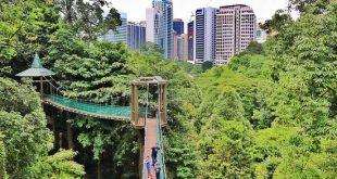 """""""بوکیت ناناس"""" کوالالامپور یک مکان مناسب برای پیاده روی در طبیعت"""